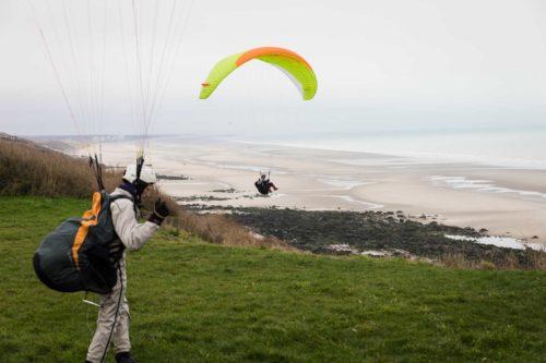 Paragliding Equihen-Plage Wohnmobilstellplatz