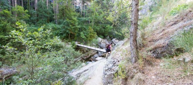 Wanderung in die Gorges du Trévans