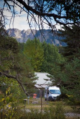 Camping Lou Passavous in Le Vernet
