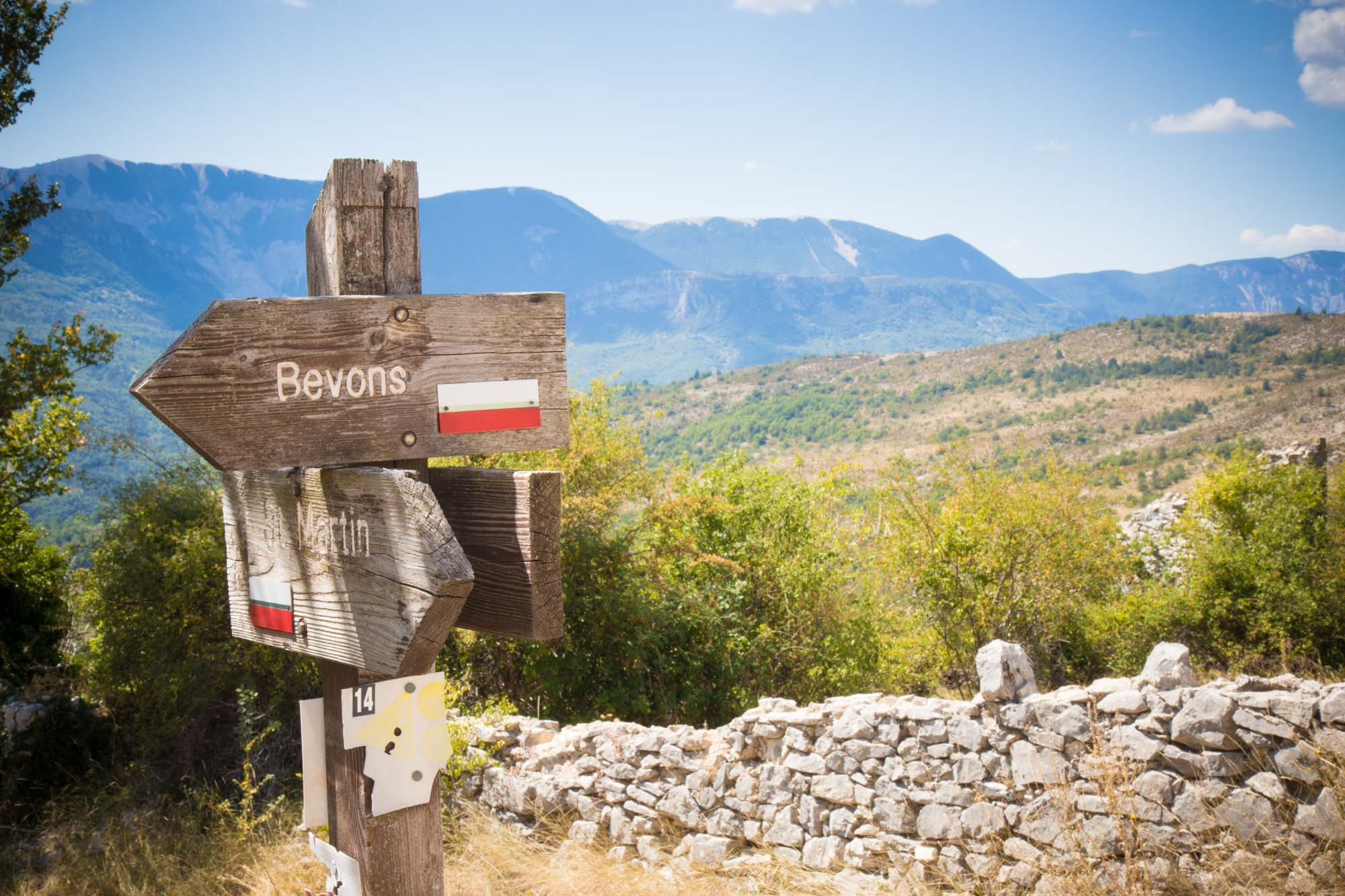 Lost Place Provence, westlich der Durance